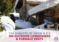 The Dangers Of Snow & Ice On Outdoor Condensers & Furnace