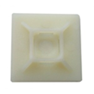 Tiewrap Base Adhesive Natural - Small