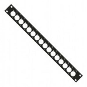 "Patch Panel 16Way BNC 19"" 1U 