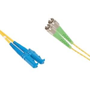 E2000-FC/APC Singlemode 9/125 duplex patchcord | FC/APC singlemode patchcord | FC/APC singlemode patch cord | FC/APC patch cord | FC/APC patchcord | E2000 singlemode patchcord | E2000 singlemode patch cord | E2000 patch cord |E2000 patchcord | FC/APC-E2000 singlemode patchcord |FC/APC- E2000 singlemode patch cord | FC/APC-E2000 patch cord | FC/APC-E2000 patchcord