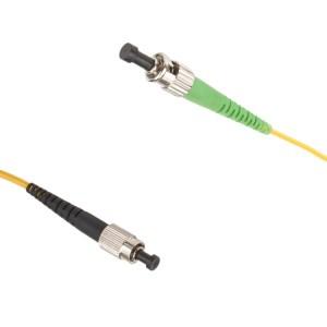 FC-ST/APC Singlemode 9/125 simplex patchcord | FC singlemode patchcord | FC singlemode patch cord | FC patch cord | FC patchcord | ST/APC singlemode patchcord |ST/APC singlemode patch cord | ST/APC patch cord |ST/APC patchcord | FC-ST/APC singlemode patchcord |FC- ST/APC singlemode patch cord | FC-ST/APC patch cord | FC-ST/APC patchcord