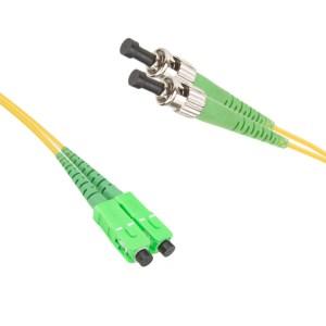 SC/APC-ST/APC Singlemode 9/125 duplex patchcord | SC/APC singlemode patchcord | SC/APC singlemode patch cord | SC/APC patch cord | SC/APC patchcord | ST/APC singlemode patchcord | ST/APC singlemode patch cord | ST/APC patch cord |ST/APC patchcord | SC/APC-ST/APC singlemode patchcord |SC/APC- ST/APC singlemode patch cord | SC/APC-ST/APC patch cord | SC/APC-ST/APC patchcord