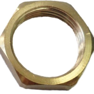 Conduit Locknut 25mm Brass (Pack of 10)