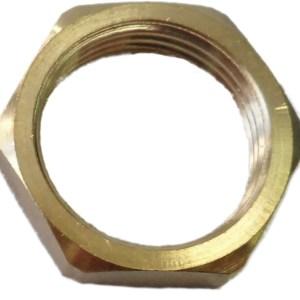 Conduit Locknut 25mm Brass (Pack of 10)
