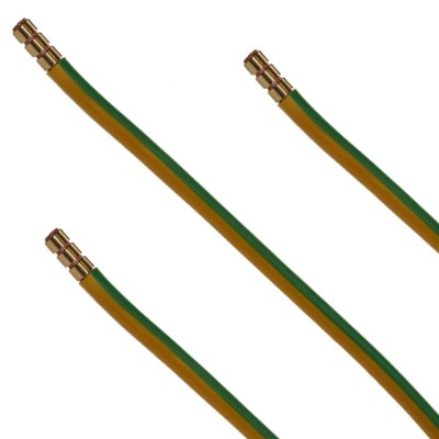 Green/Yellow tri-rated cable| tri rated cable | BS6231 | bs 6231| power cable | power cable assembly