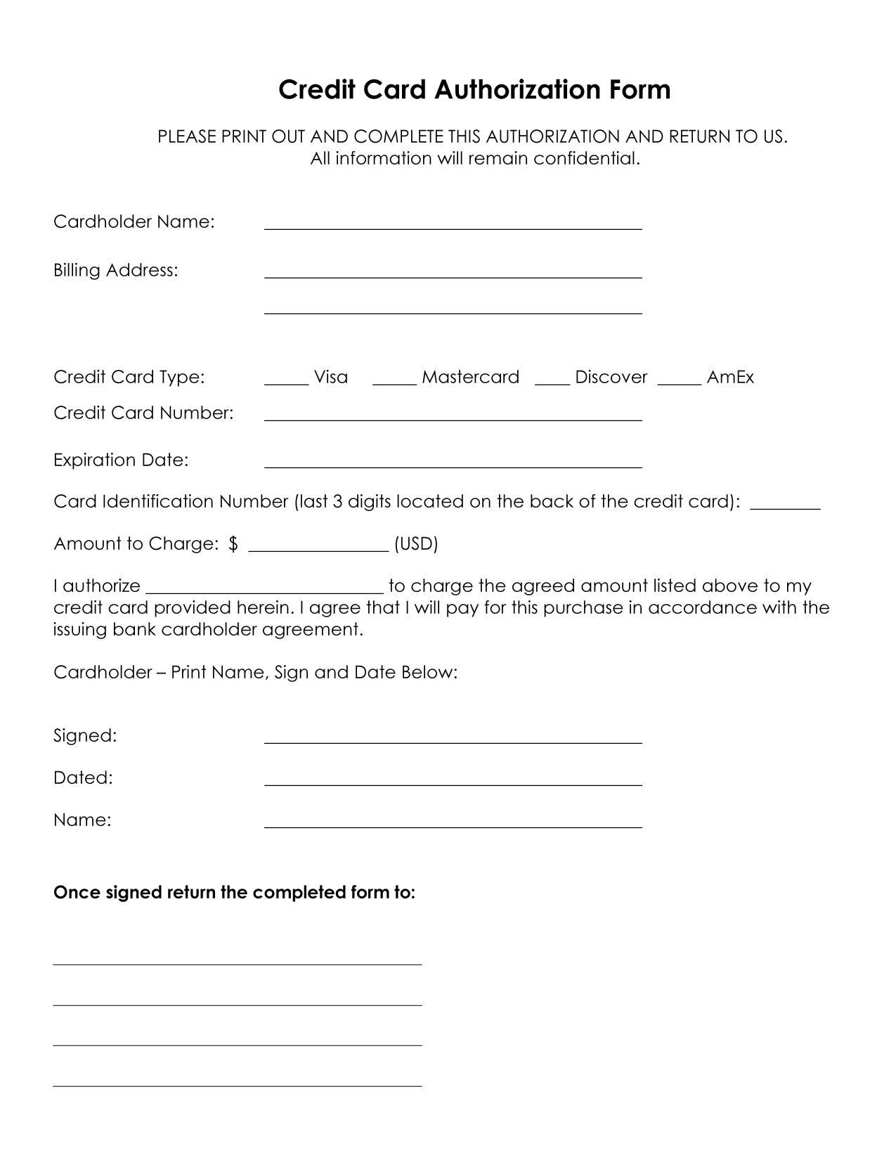 credit card authorization form visa professional resume cover credit card authorization form visa credit card authorization form cin online blank credit card template credit