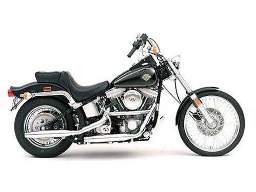 1984 Harley-Davidson FXST Softail Manual