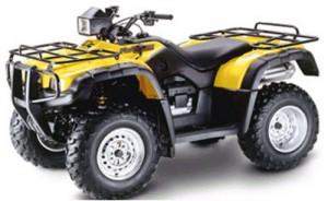 Honda TRX500FA TRX500FGA Rubicon TRX500 Manual