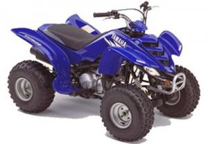 Yamaha YFM80 Raptor 80 Manual