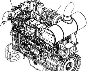 Komatsu 12V140E-3 Series Engine Service Repair Workshop