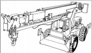 Komatsu 150A 150FA Hydraulic Crane Manual
