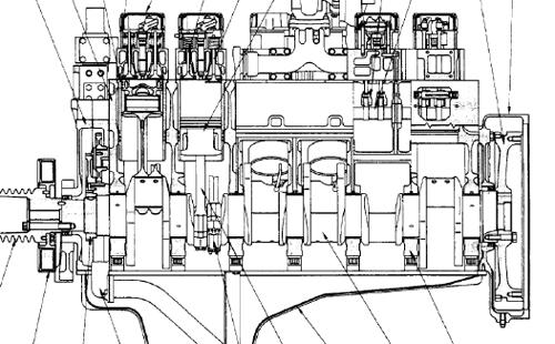 Komatsu 12V140ZE-2 SAA12V140ZE-2 Engine Manual