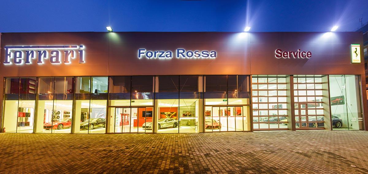 Am fost la lansarea noului showroom + service Ferrari din Bucuresti! VIDEO