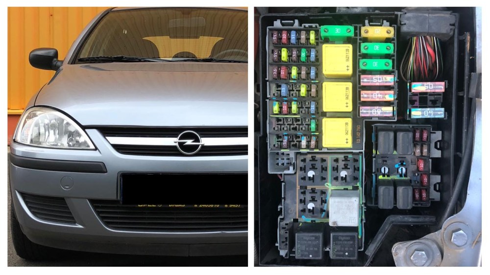 medium resolution of opel and vauxhall corsa c fuses and relay diagram opel corsa 2006 fuse box opel corsa 2006 fuse box