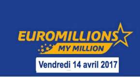 Résultat Euromillions et My Million (FDJ) du vendredi 14 avril 2017