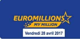 résultat Euromillions 28 avril 2017