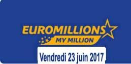 résultat euromillions 23 juin 2017