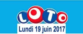 résultat loto 19 juin 2017
