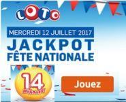 résultat loto 12 juillet 2017