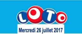 résultat loto 26 juillet 2017