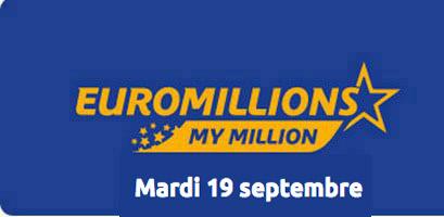 résultat euromillions 19 septembre 2017