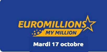 résultat euromillions 17 ocotobre 2017