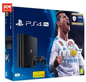PS4 pro fifa 2018 promo