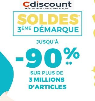 cdiscount soldes 2018