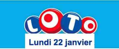 résultat loto 22 Janvier 2018