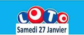 résultat loto 27 janvier 2018