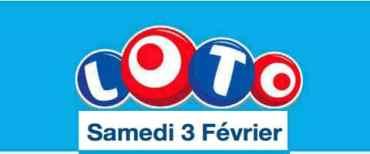 résultat loto 3 février 2018