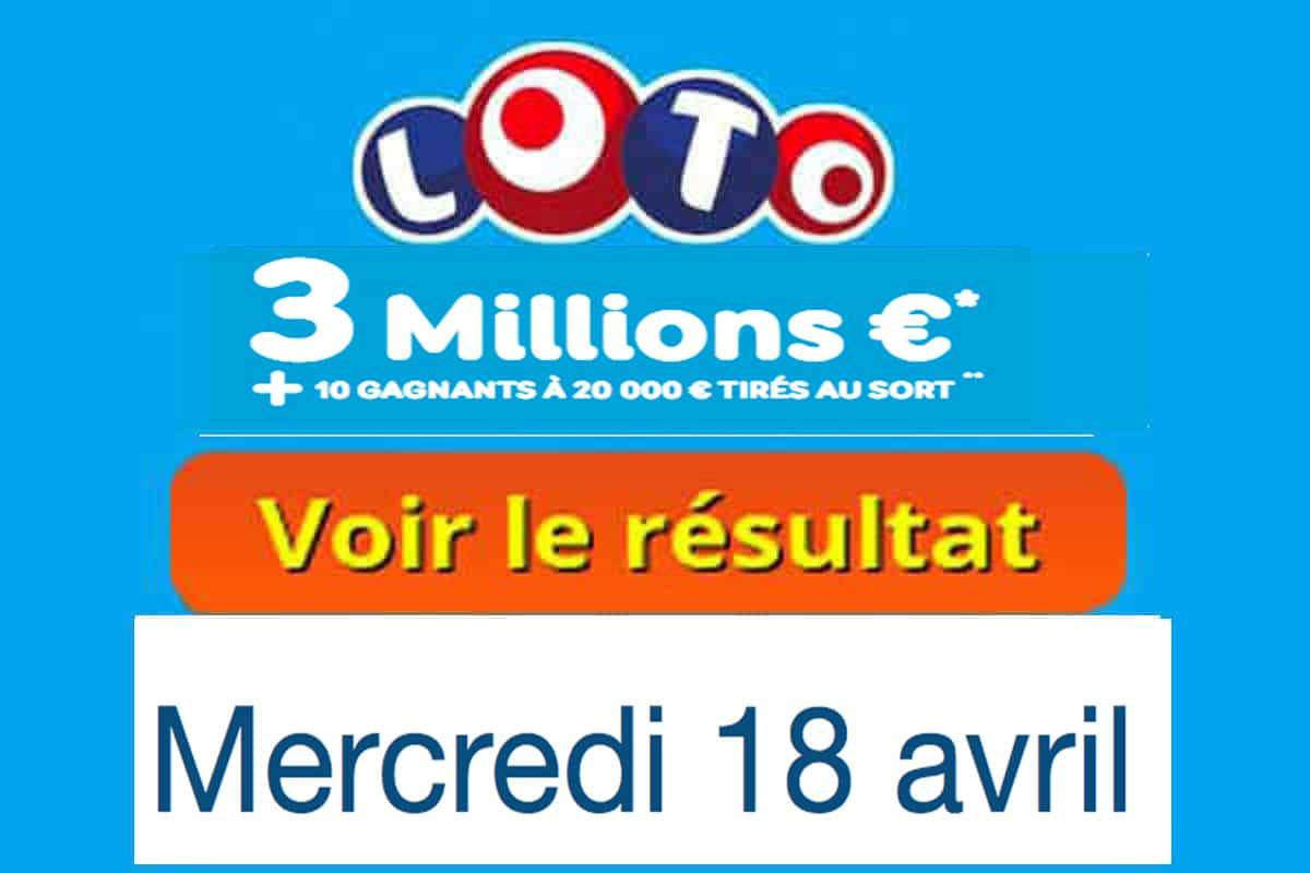 Numéros et code gagnants (tirage vendredi 20 avril 2018) — Résultat Euromillion