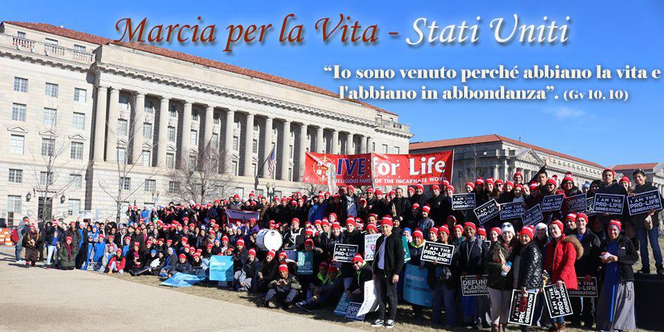 Servidoras - 45ª Marcia per la Vita – Washington, D.C. 2018