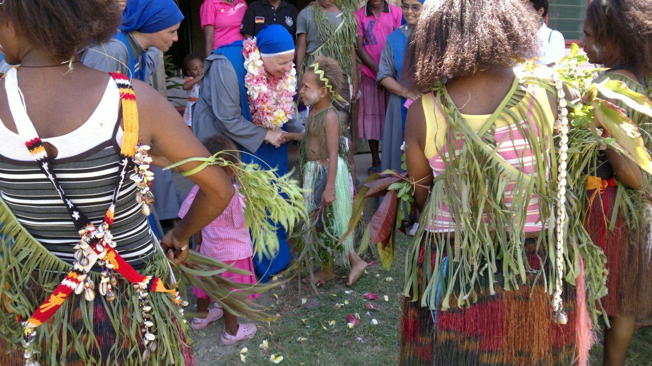 La Madre María de Anima Christi en Papúa Nueva Guinea