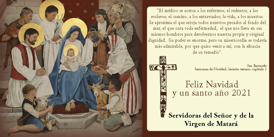 Feliz Navidad y un santo año 2021 - Saludos