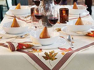 serviettede  Duni Servietten Tischdecken Kerzen und