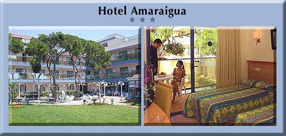 HOTEL AMARAIGUA     HOTELES  SERVIGALIAcom HOTELES