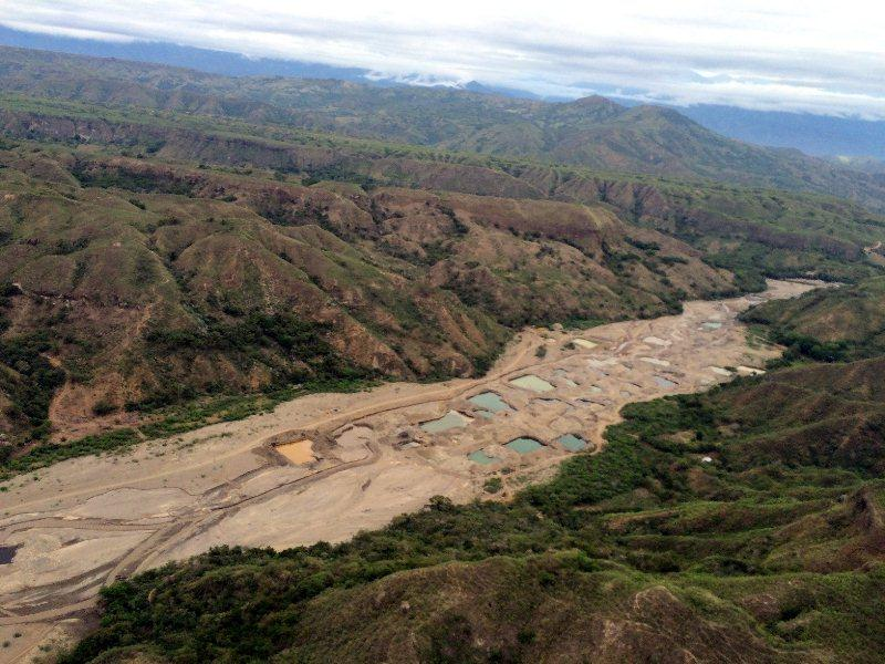 Río Sambingo. Foto: Ejército Nacional