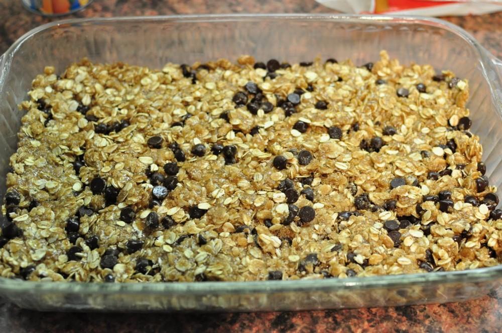 bake granola bars