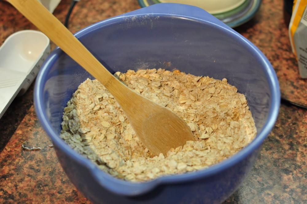 dry granola bar ingredients