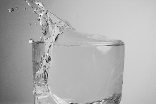 Storm in a water glass