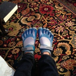 five fingers running shoes