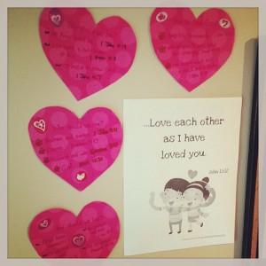 valentine scriptures