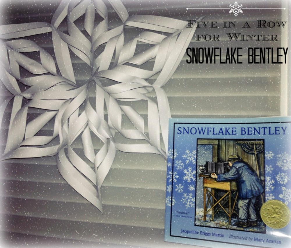 Five in a Row Winter Study : Snowflake Bentley