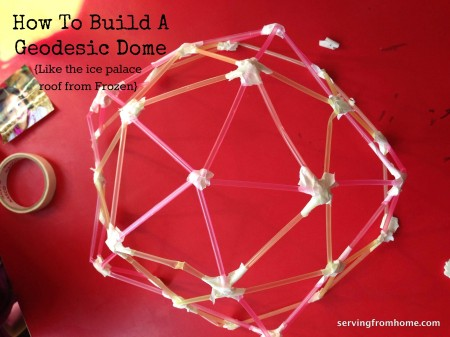 How To Build An Easy Geodesic Dome