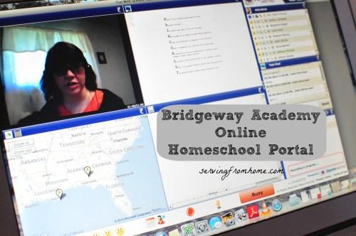 Bridgeway Academy Online Homeschool Portal