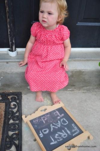 Ellie chalkboard