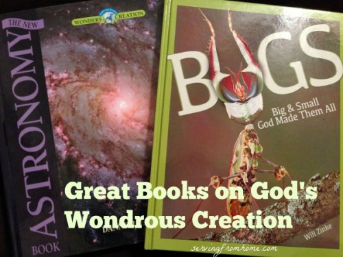 Great Books on God's Wondrous Creation