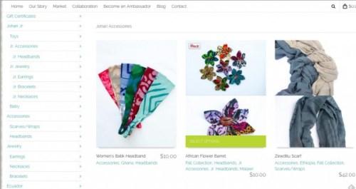 Johari Creations shopping