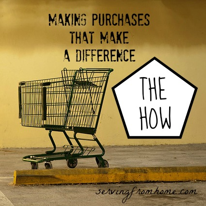 The How Purchases That Make a Difference